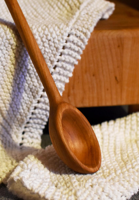 Cherry Wooden Kitchen Spoon